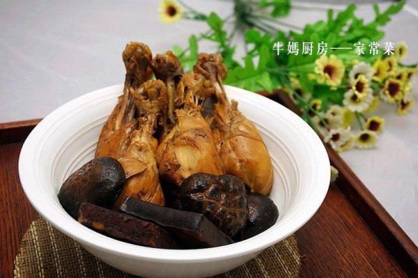 鸡腿菇炒香干的做法