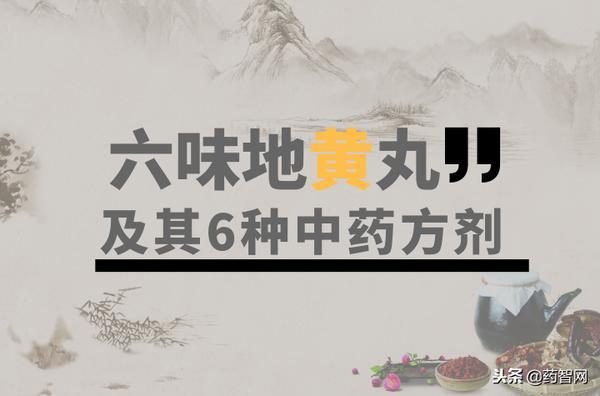 六味地黄丸(胡庆余堂)的说明书