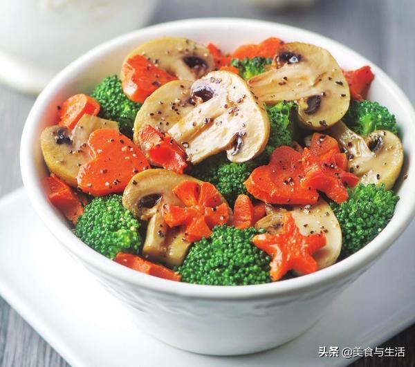 非油炸加蔬菜的做法