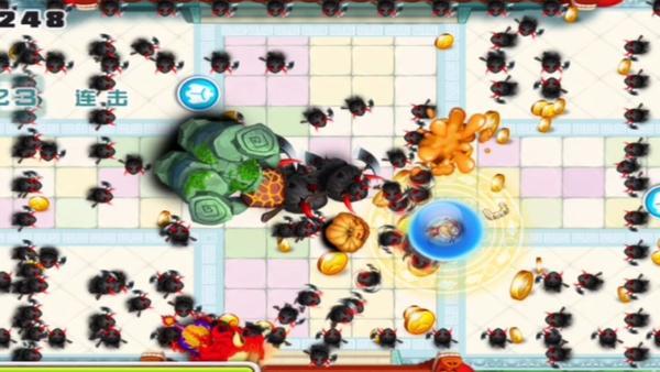 宫爆老奶奶玩家自信展示游戏试玩视频