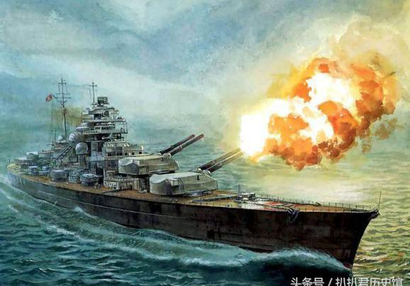 """""""帝国海军最后的荣耀""""德意志""""俾斯麦""""号战列舰的不归之路"""