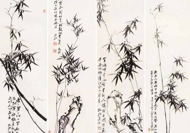 郑板桥十幅最经典的国画竹!