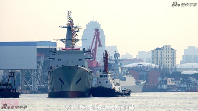 中国最大电子侦察船