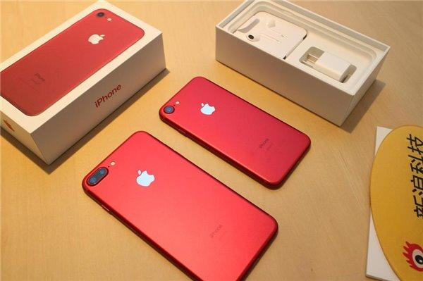 iPhone7红色版突然发布:价格感人 3月24号开卖