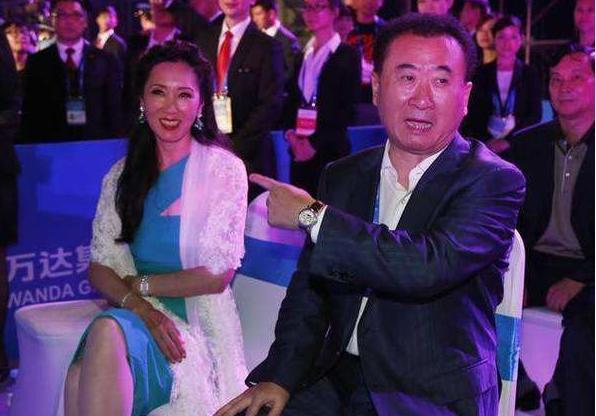 首富王健林妻子林宁高贵美丽,选女人眼光比儿子王思聪好一万倍
