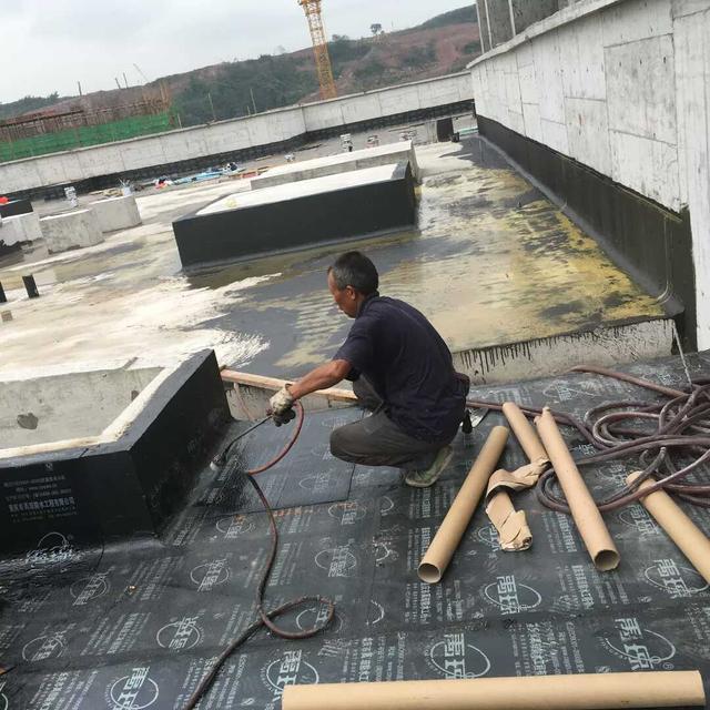 仿古建筑防水配套施工