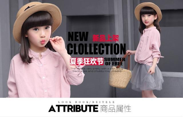 女童的潮流指向标,6款甜美的女童套装,可爱俏皮又时尚