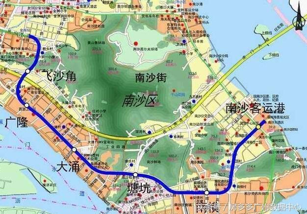 通往大海的地铁 广州4号线延长线开通可接香港快艇