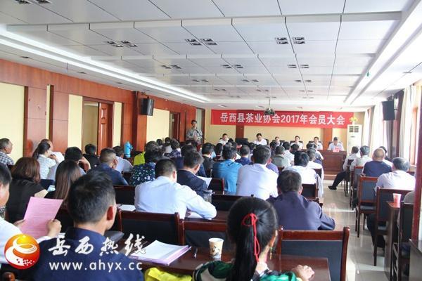 岳西茶业协会2017年会员大会隆重召开