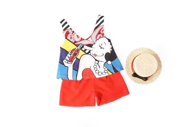 夏季女装休闲套装