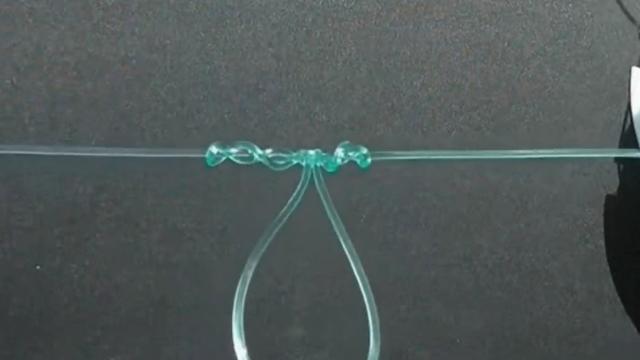 串钩主线的绑法图解