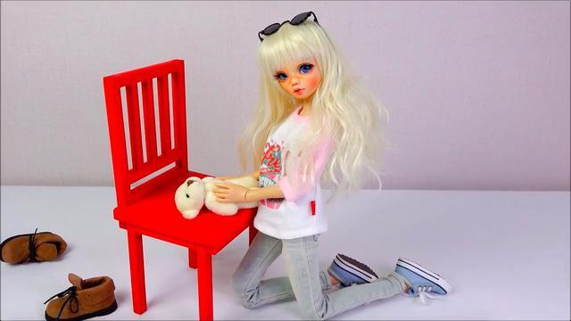 球体关节人形娃娃的打扮穿衣换装,简直把人萌翻了
