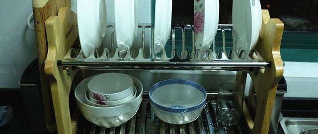 宝优妮 厨房餐饮 碗碟架沥水架碗架 多功能厨房架子DQ-1302