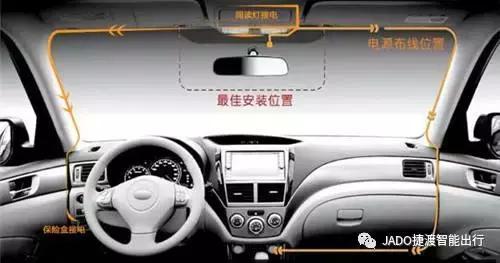 大众行车记录仪安装走线图解 - 迈昆【官网】:值得信任的行车...