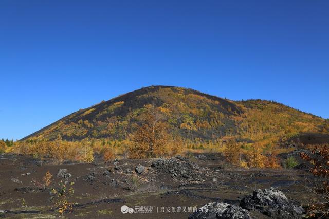 火山喷发绘画