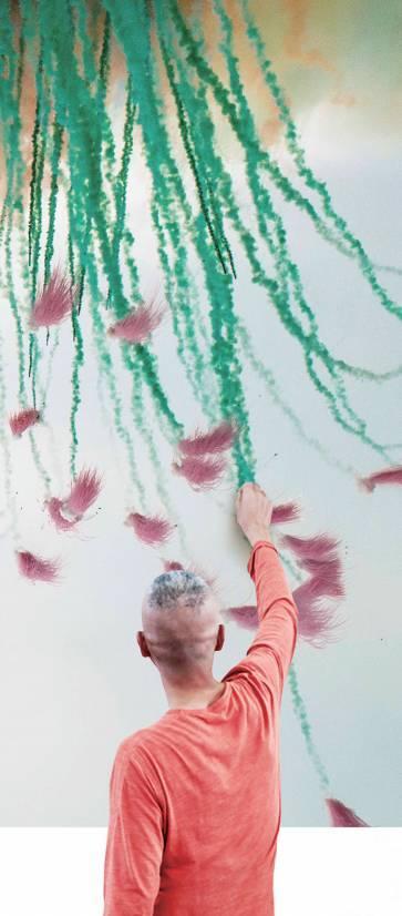 《天梯:蔡国强的艺术》:他把梯子烧上天给奶奶看,你又做过什么