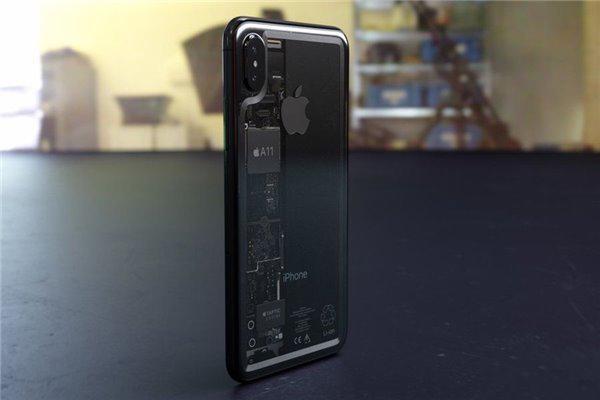 如果苹果8是透明的,你买吗?背面惊艳