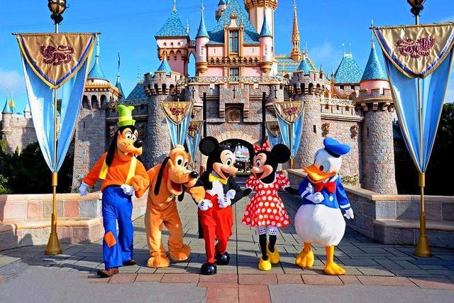 童话梦开始的地方,美国洛杉矶迪斯尼主题乐园