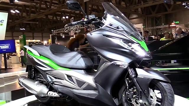 川崎首款125cc踏板J125米兰车展发布,或引进国内