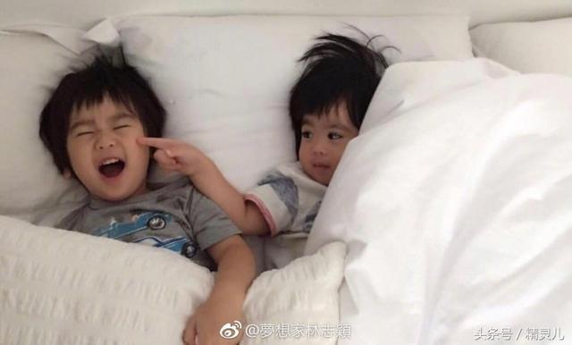 林志颖微博晒双胞胎儿子照片 甜蜜配文中浓... - 巴中在线手机版