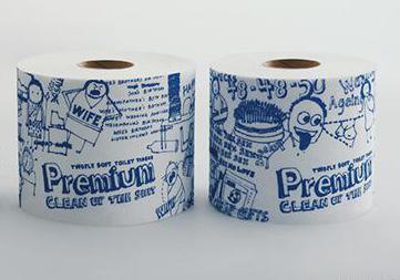 诙谐卫生卷纸包装设计,再现卫生纸使用场景,第三张有亮点……