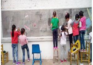 校园安全教育黑板报简单又大方_学习啦在线学习网