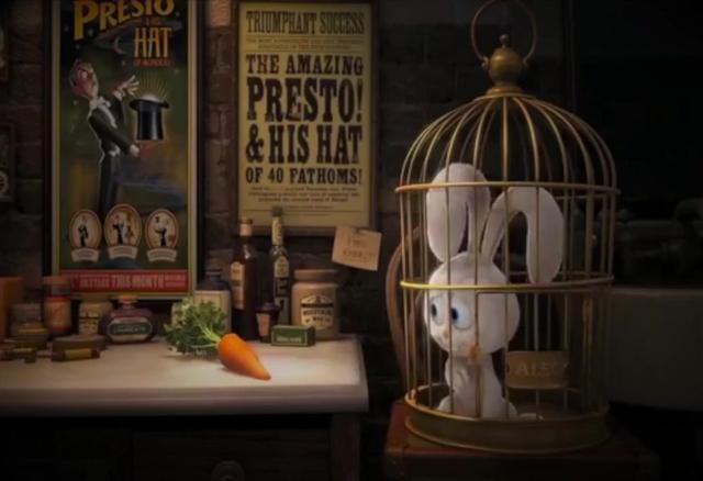 迪士尼超搞笑的动画短片,这个帽子戏法我给101分