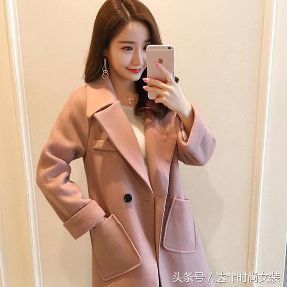 秋季新款中长款韩版针织开衫显瘦毛衣外套