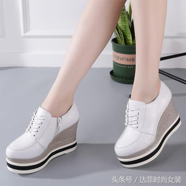 隐形内增高小白鞋清仓大特价,穿着舒适又显高,最低只要49元