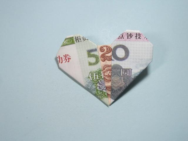 简单几招,带你学习3D心形折纸的方法,又简单又漂亮(图解)