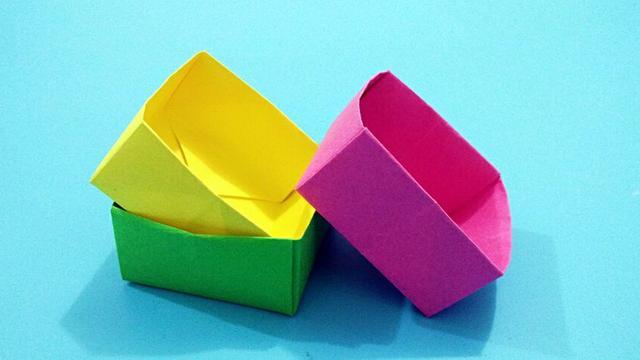 桌面收納盒制作教程