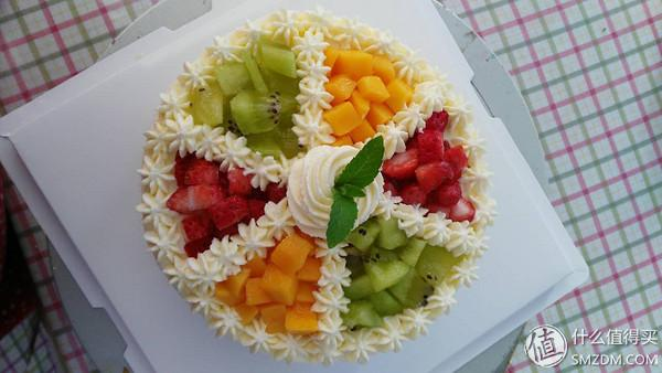 我的烘焙十年 篇五:水果生日蛋糕