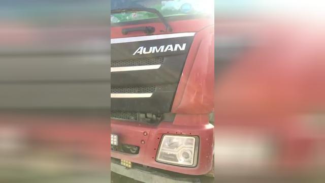 欧曼自卸车375马力