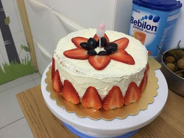 八寸生日蛋糕的做法