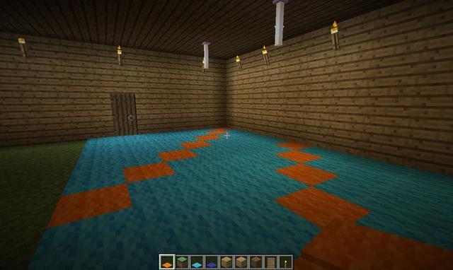 我的世界怎么建超大别墅