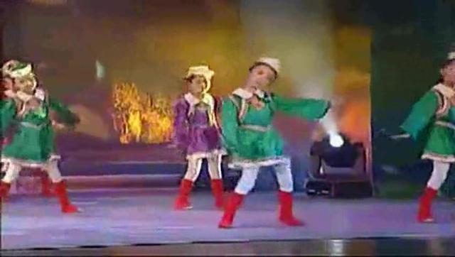 少儿民族舞蹈蒙古舞《五彩童年》