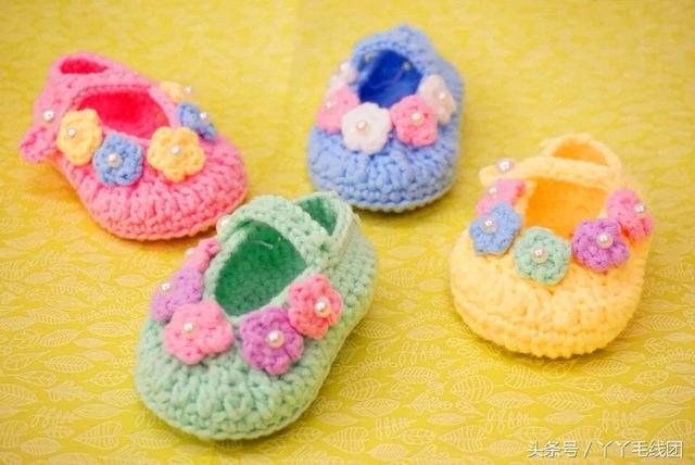 多款宝宝鞋编织花样图解 好看得不得了 - 妈妈育儿网