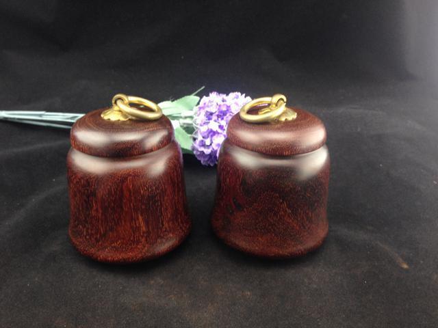 印度小叶紫檀--茶叶罐