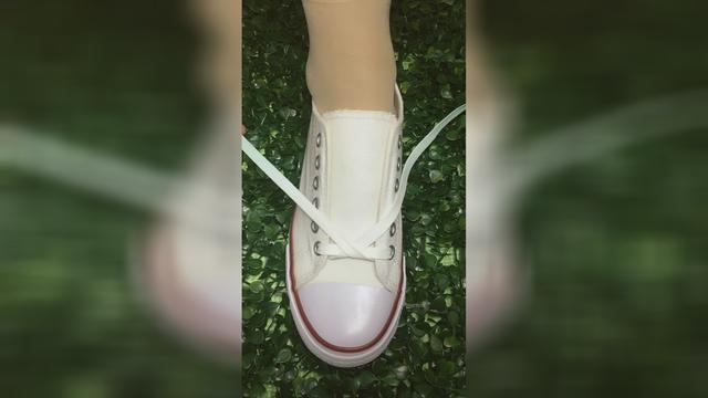 5孔鞋带系法大全图片