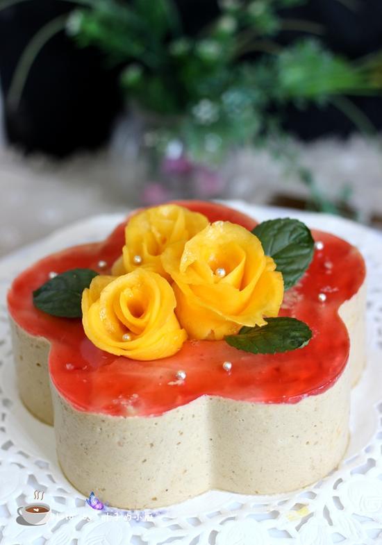做生日蛋糕,不會裱花?教您一招,不裱花照樣漂亮得不得了!
