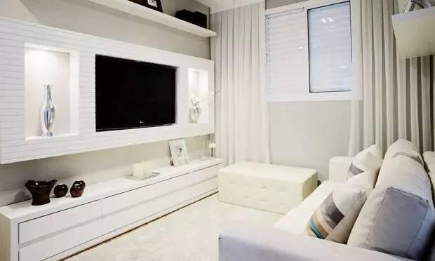 56款新颖别致客厅电视背景墙装修效果图全览 我门都爱独特客厅