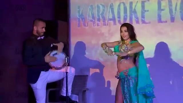 ATS团即兴表演的印度肚皮舞,让你感受到印度舞蹈的魅力