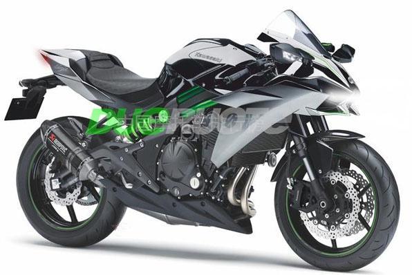 川崎新款双缸600cc机械增压摩托车谍照曝光