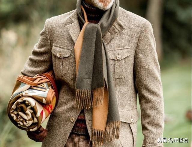 男人穿衣最高境界并非西服套裝,紳士休閑裝與眾不同才是極致品味