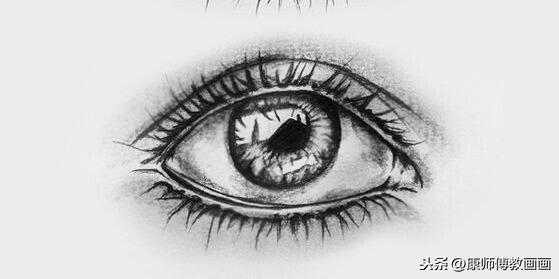 100种眼睛的画法,难得一见的资料
