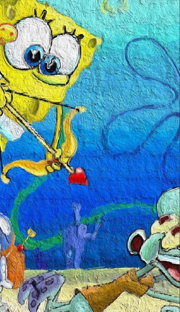 上海幼儿园手绘墙 卡通动物 皮卡丘 海绵宝宝 粉嫩... _新浪博客