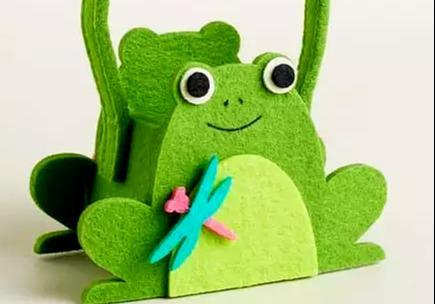 DIY手工制作:不织布做的各种小可爱!适合手工课作业!