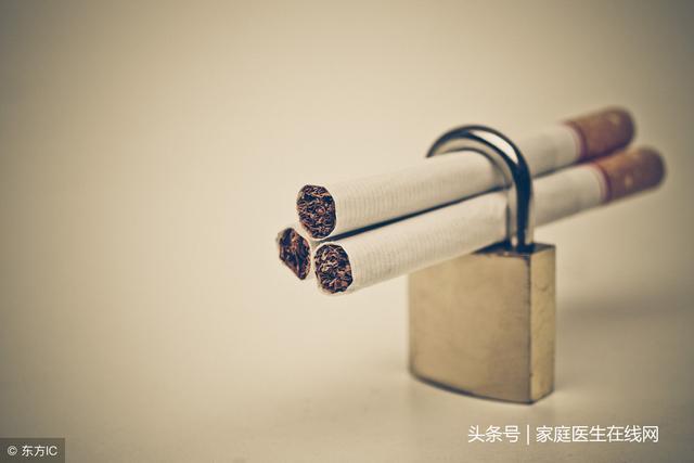 吸烟10年后戒烟肺