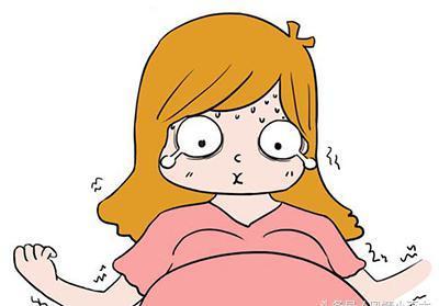 孕妇大肚生子临盆比基