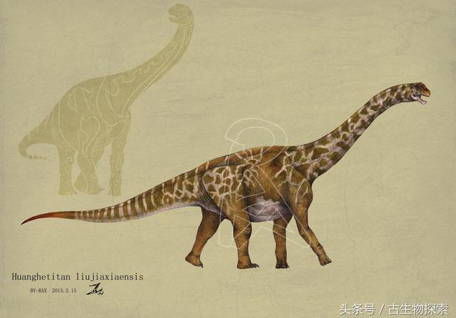 中国百年十大恐龙——黄河巨龙